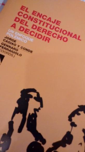 El encaje constitucional del derecho a decidir col lectiu emma - Libreria marcial pons barcelona ...